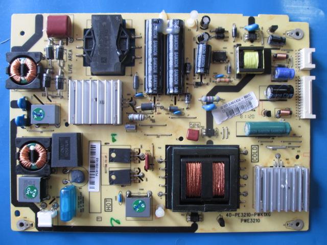 PLACA FONTE PHILCO 40-PE3210-PWK1XG PWE3210 MODELO PH32 LED A