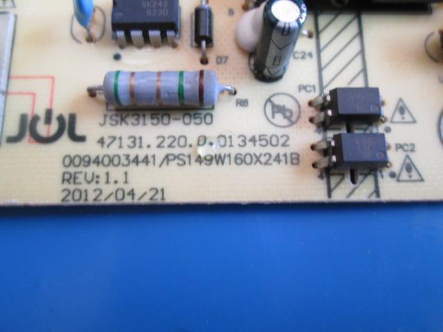 PLACA FONTE H-BUSTER  MODELO HBTV42L03FD JSK3150-050  NOVA