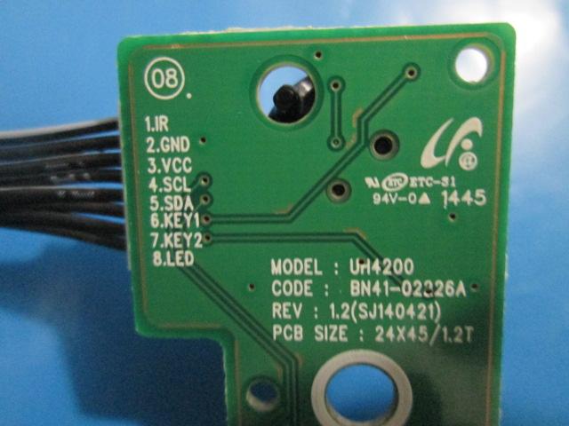 PAR JOYSTICK SAMSUNG BN41-02326A MODELO UN40H4203AG / UN48H4200AG / UN48H4203AG