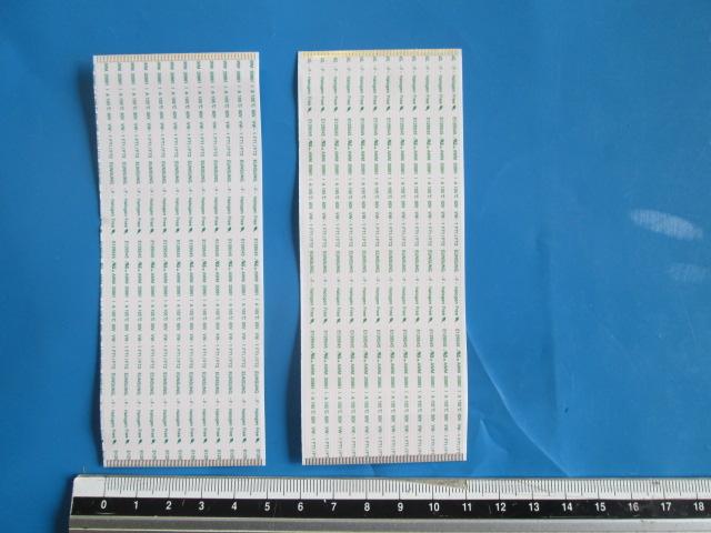 PAR DE CABOS FLAT DA T-CON LG 6870C-0511A (H/F) MODELO 65UB9500-UA