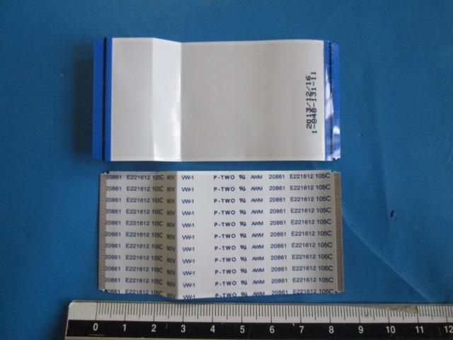 PAR DE CABOS FLAT MODELO KDL-60W855B / KDL-70W850B / KDL-70W855B CÓDIGO 1-848-131-11 DA T-CON SONY RUNTK5475TP 0106FV