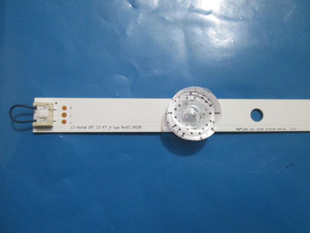 BARRA DE LED LG 47LB6300 / 47LB6500 ( A COM 5 LEDS ) CÓDIGO 6916L-1961A