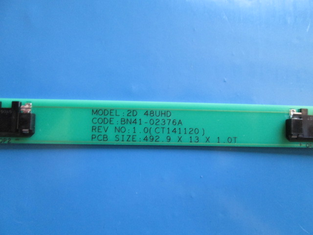BARRA DE LED INTERFACE SAMSUNG  UN48JU400AF  BN41-02376A