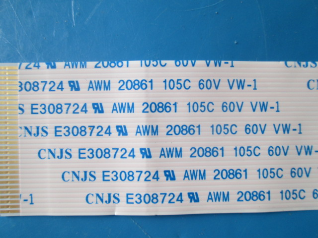 CABO FLAT TV SAMSUNG MODELO T28E310LH CÓDIGO BN96-31086C