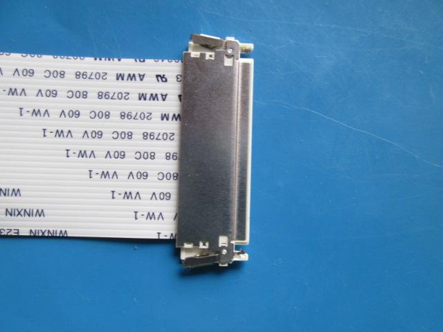 KIT 18 PÇS CABO FLAT PHILIPS E230343 AWM 20798 80C 60V 3,1 cm Larg. 17cm Comp 30 Vias cada lado.