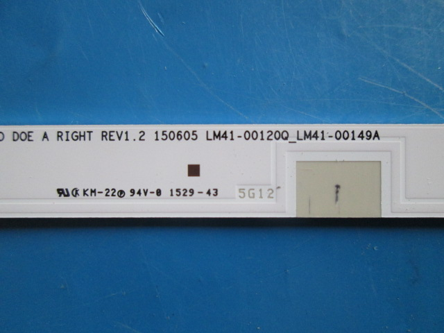 KIT 2 BARRAS DE LED SAMSUNG LM41-00120Q_LM41-00149A RIGHT UN48J5200AG