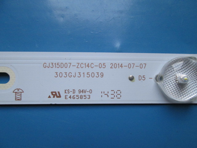 BARRA DE LED PHILIPS GJ315D07-ZC14C-05  303GJ315039  32PHG4900/78