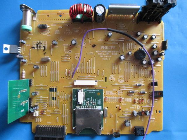 PAINEL ELÉTRICO PRINCIPAL PHILIPS 410-CEM3100A-EB-04