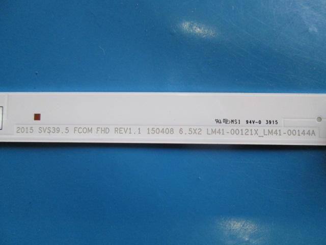 BARRA DE LED TV SAMSUNG UN40J5200AG LM41-00121X_LM41-00144A