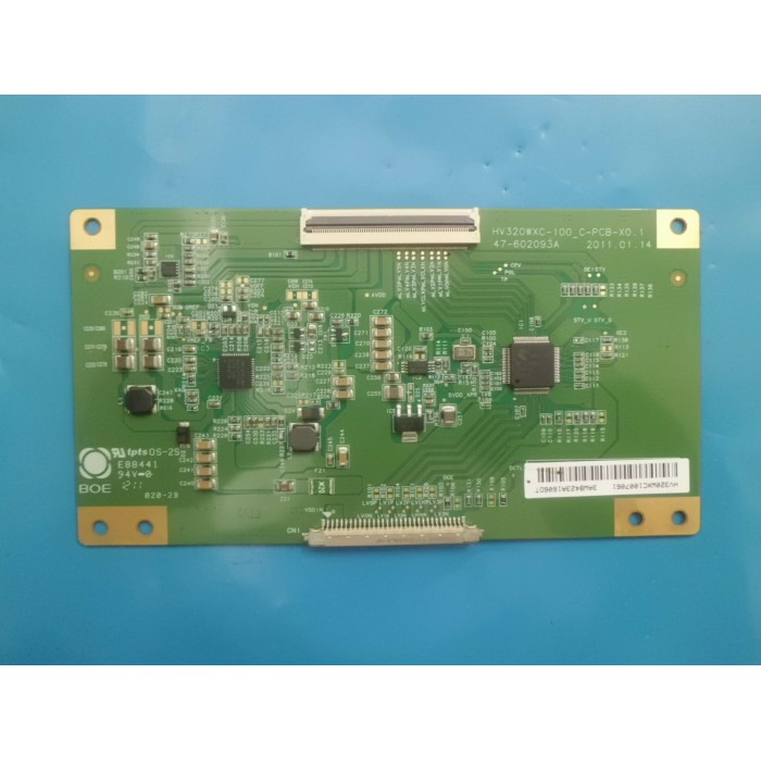 PLACA T-CON HBUSTER MODELO HBTV32L05 CÓDIGO HV320WXC-100_C-PCB-X0.1 47-602093A