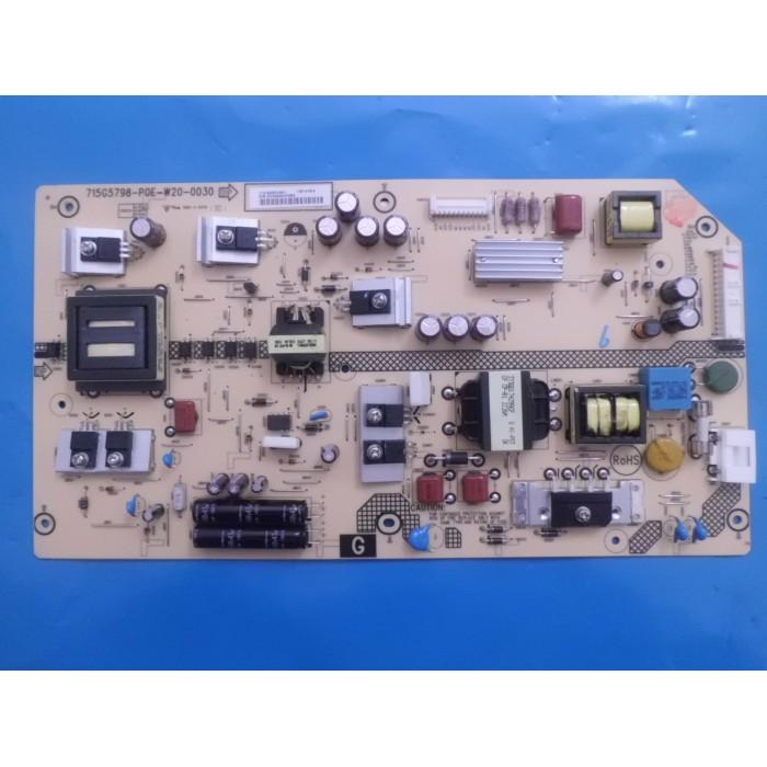 PLACA FONTE SONY KDL-42R475A  715G5798-P0E-W20-0030