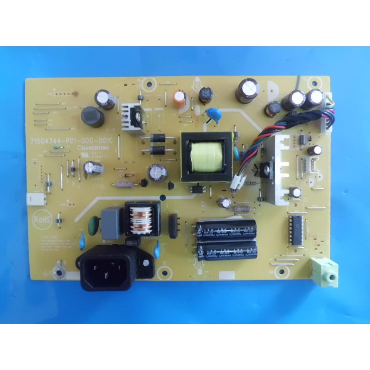 FONTE AOC 715G4744-P01-000-001C MODELO E2250SWD  COM AUDIO  - Jordão R.Camacho
