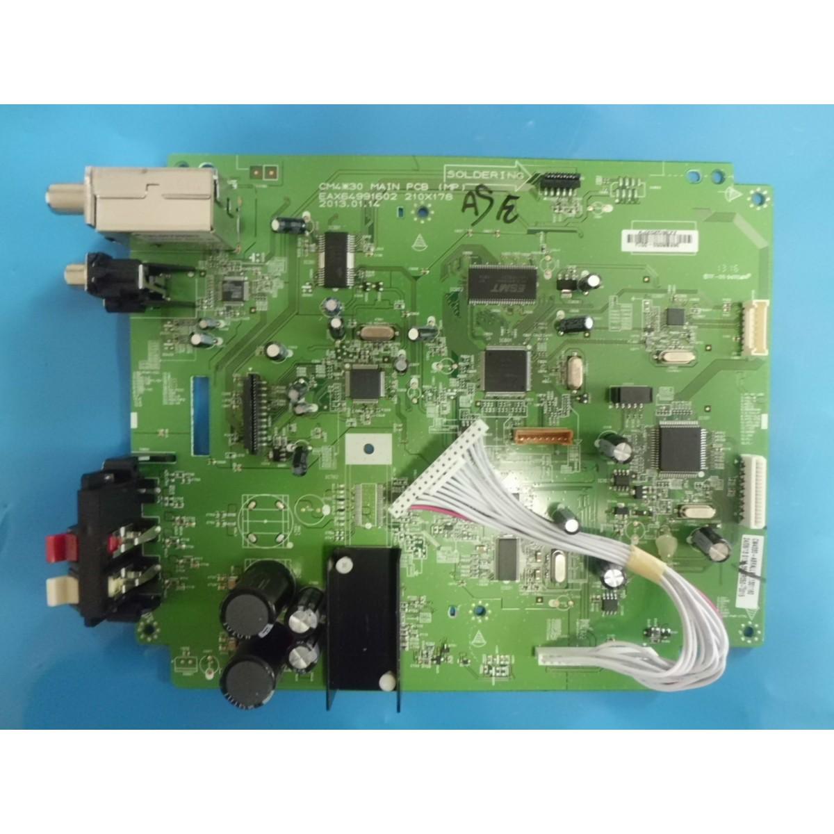 PRINCIPAL SOM LG EAX64991602 MODELO CM4330  - Jordão R.Camacho