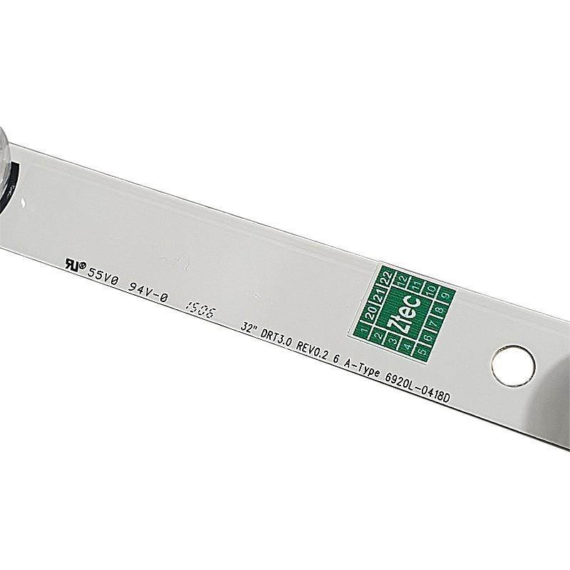 """BARRA LED LG - Modelo 32LB550B / 32LB560B / 32LB570B / 32LB580B - Código LGIT A DRT 3.0 32""""_A REV0.2 / 6916L-1974B"""