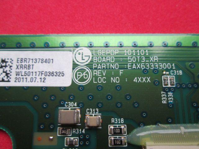 BUFFER LG EAX63333001 / EBR71378401 MODELO 50PT250B