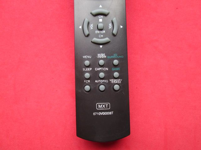 CONTROLE REMOTO LG MXT 6710V00008T / C0867-613/07