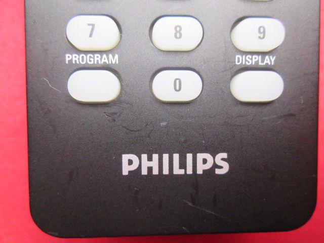 CONTROLE REMOTO ORIGINAL PHILIPS CÓDIGO 3139 238 17761 / RC2023630/01 ARRANHADO