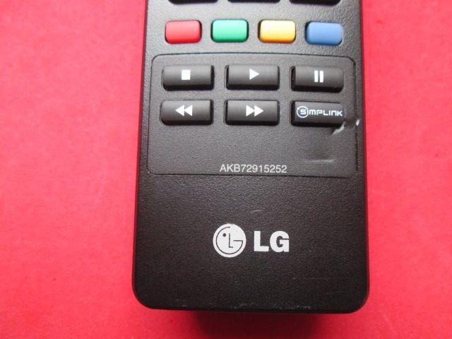 CONTROLE REMOTO ORIGINAL TV LG CÓDIGO AKB72915252 SEMI NOVO