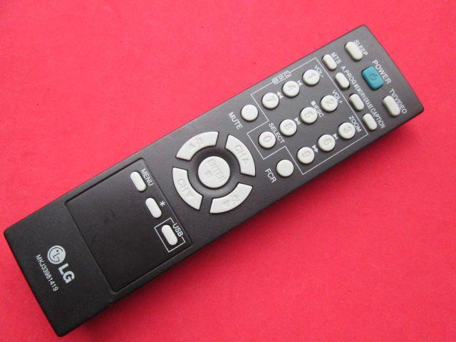 CONTROLE REMOTO ORIGINAL TV LG CÓDIGO MKJ33981419 SEMI NOVO