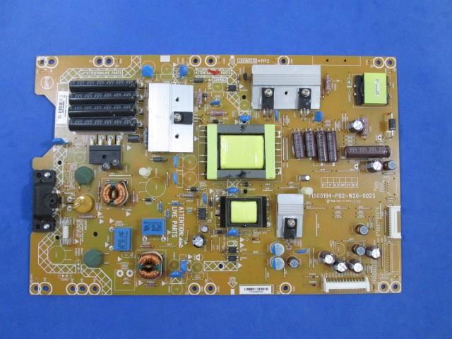 PLACA FONTE PHILIPS  MODELO 32PFL4007D/78 / 39PFL4707G / 39PFL4707G/78 715G5194-P02-W20-002S / 310610854301 TESTADA.