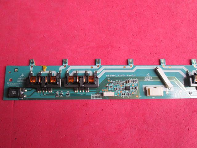 PLACA INVERTER SAMSUNG SSB400_12V01 MODELO LN40C610 / LN40C630 / LN40C530 / LE40C650 / LE40C530
