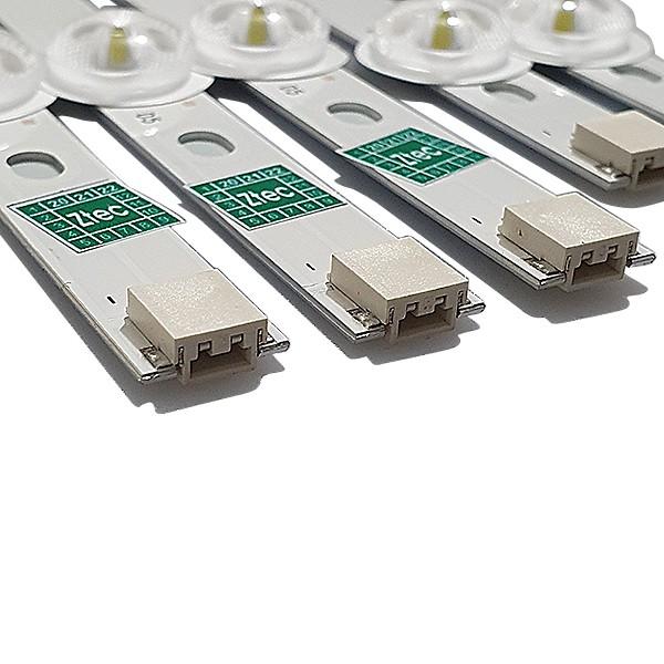 KIT 10 BARRAS LED LG 42LN5400 / 42LN5700 / 42LA6200 / 42LA6130