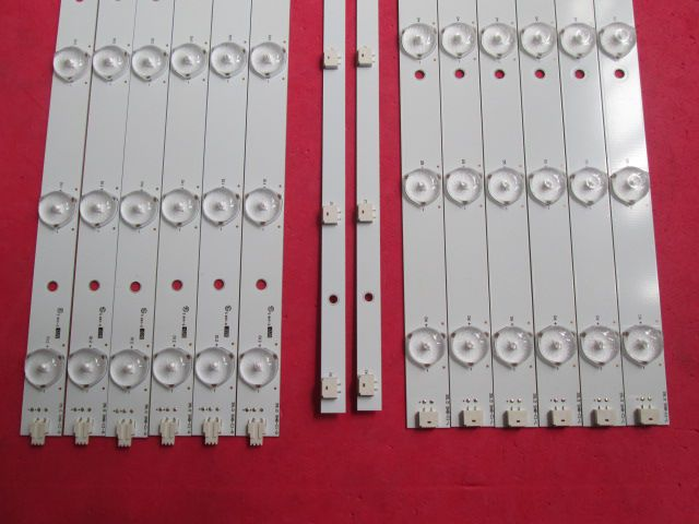KIT 12 BARRAS AOC - LE39D0330 39.0 SNB-C1-L  + 39.0 SNB-C1-R  + 39.0 SNB-V4 INTERFACE