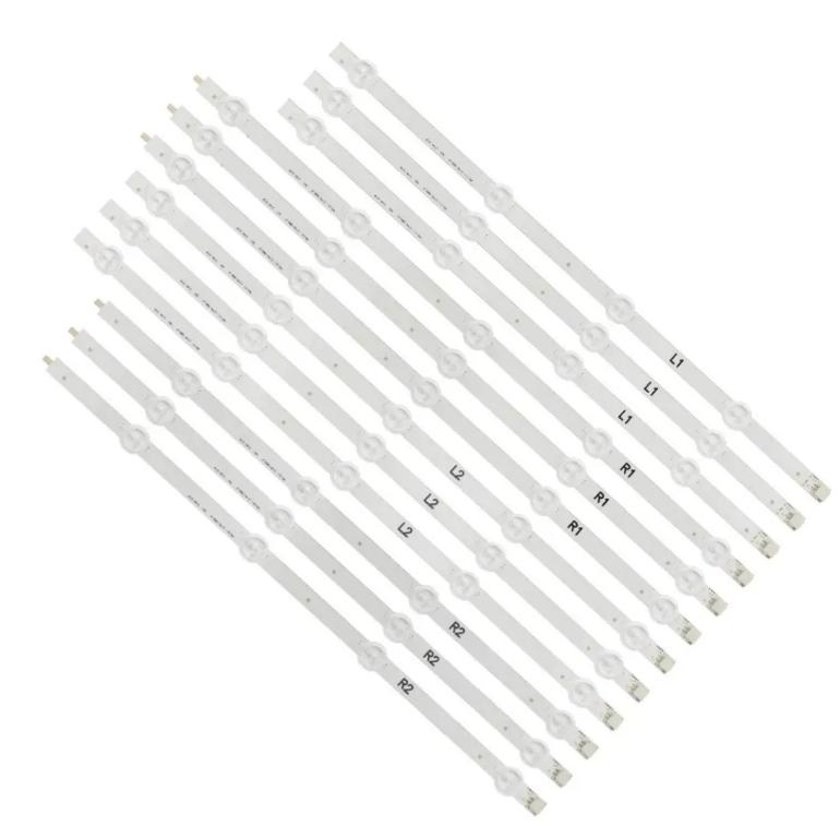 KIT 12 BARRAS DE LED LG 47LN5400 / 5700 47LA6130 / 6200 / 6204