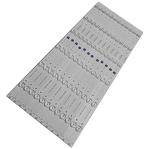 KIT 12 BARRAS DE LED TCL - Modelo: 55L5400 | Código: CRH-ES553535061244MREV1.2B / ECHOM-55SC-4655SC001