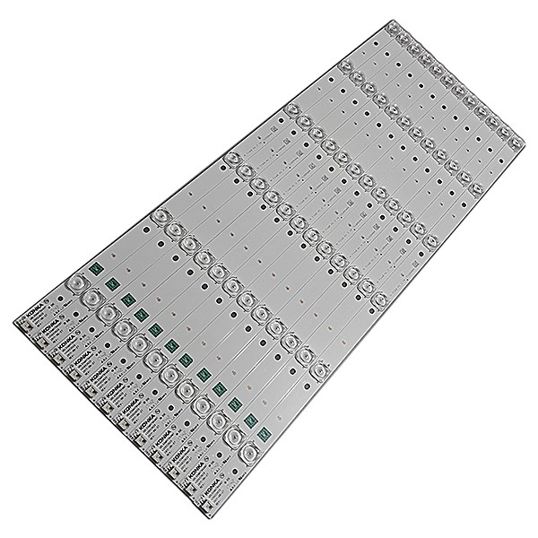 KIT 12 BARRAS DE LED TCL / TOSHIBA - Modelo 55K1US | Código UDL55MH794ANT