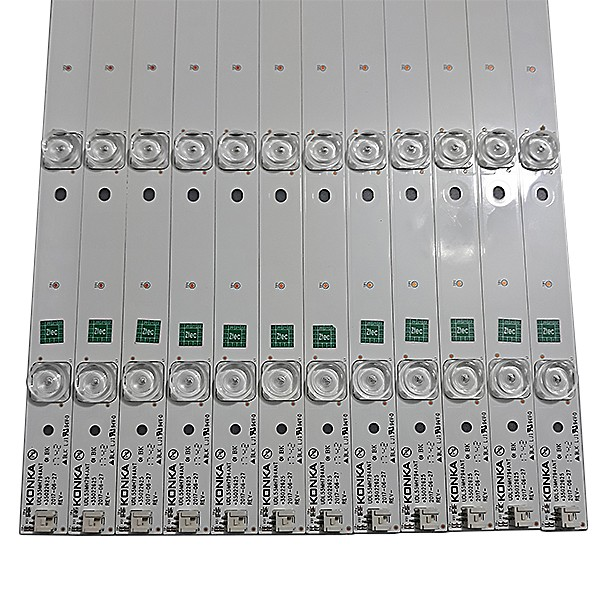 KIT 12 BARRAS DE LED TCL / TOSHIBA - Modelo 55K1US   Código UDL55MH794ANT