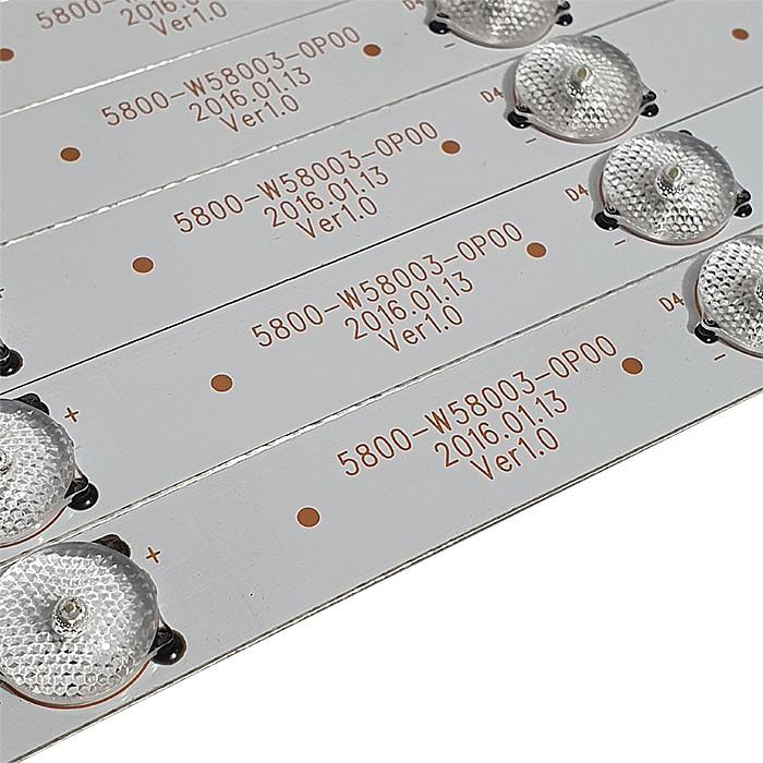 KIT 12 BARRAS LED PHILCO - Modelo PH58E20DSGWAS | Código PH58E20 5800-W58003-0P00