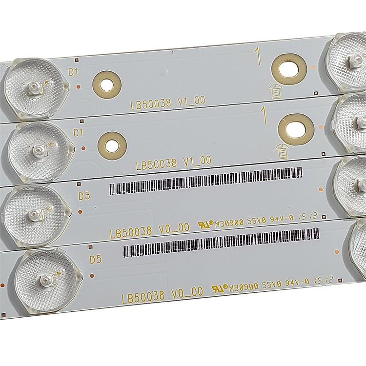 KIT 12 BARRAS LED PHILIPS 50PUG6700/78 LB50038 V0_00