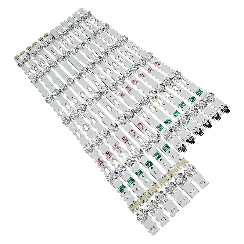 KIT 12 BARRAS LED SAMSUNG - Modelo UN50MU6100 / UN50MU6100G | Código 6x V6DU-500DCA-R2 + / 6x V6DU-500DCB-R2
