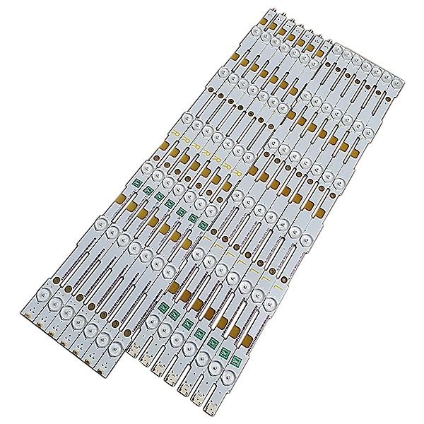 KIT 14 BARRAS LED PHILIPS - Modelo 55PUG6700/78   Código LB55053 V0_00 / LB55053 V1_00
