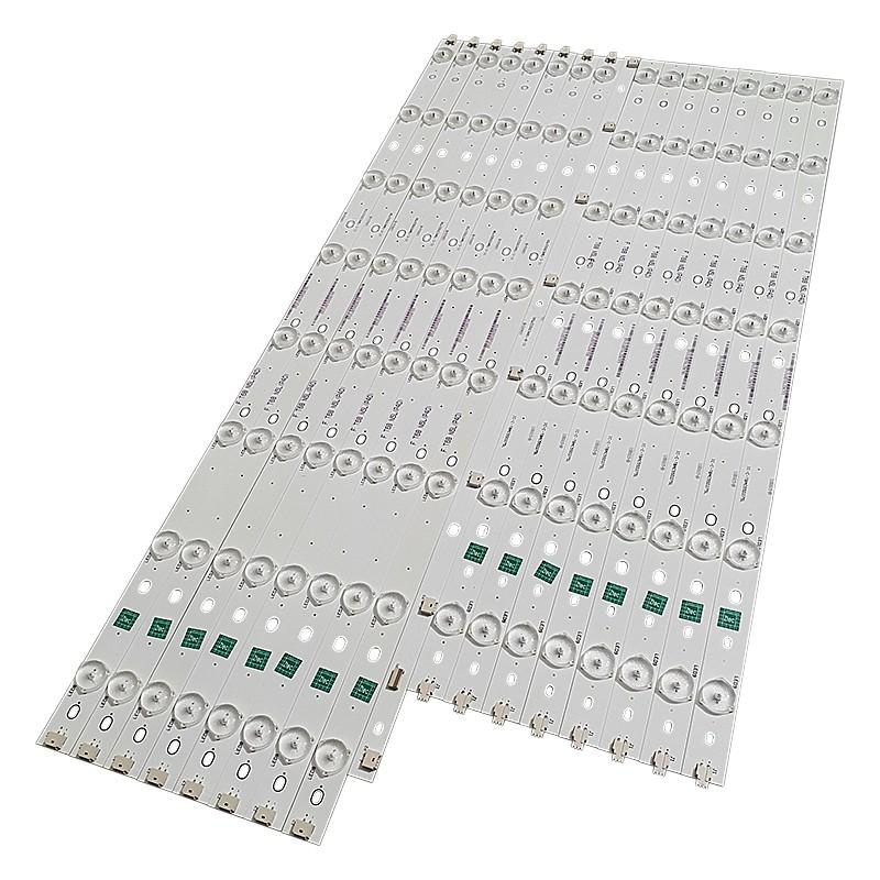 KIT 16 BARRAS LED PHILIPS - Modelo 55PFG7109/78 | Código IC-C-TBAC55D275R / IC-C-TBAC55D275L