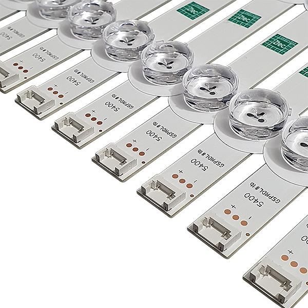 KIT 20 BARRAS LED 60LN5400 POLA2.0 60'' REV0.1 / 10 L + 10 R