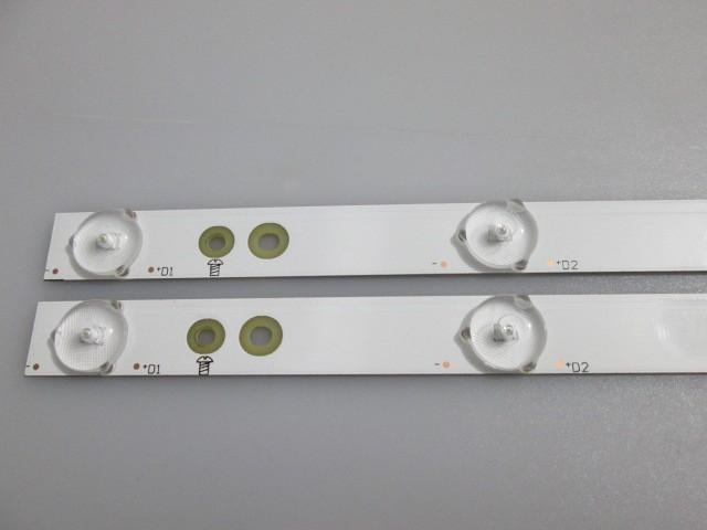 KIT 2 BARRAS DE LED AOC LE43S5970 LB-PF3030-GJD2P5435X10AGE2-H