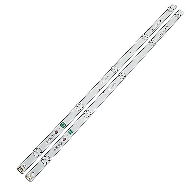 KIT 2 BARRAS DE LED LG - Modelo 32LH510b / 32LH515b / 32LH560b / 32LH570b | Código SSC_32LJ57_5LED_REV00_170214  SSC_32LJ57_ S