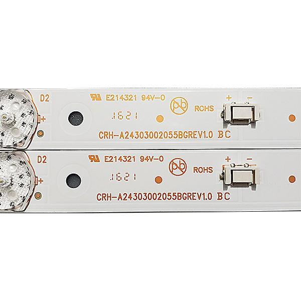 KIT 2 BARRAS DE LED PHILCO PH24E30D CRH-A24303002055BGREV1.0