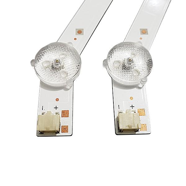 KIT 2 BARRAS DE LED SAMSUNG - Modelo UN32FH4205G / UN32FH5205G | Código LM41-00001R