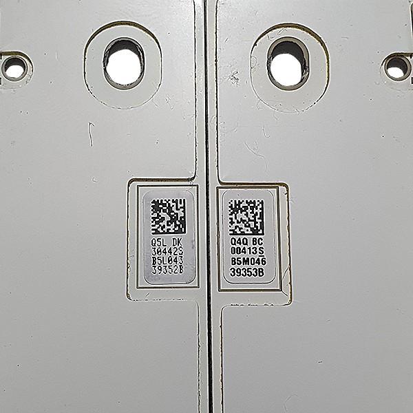 KIT 2 BARRAS DE LED SAMSUNG - Modelo UN55KS7500 UN55KS7000 | Código 39352B E 39353B
