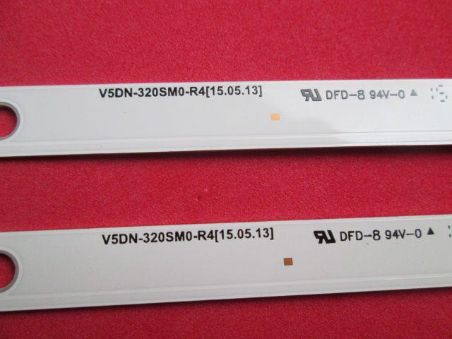 KIT 2 BARRAS DE LED SAMSUNG V5DN-320SM0-R4 MODELO UN32J4000AG