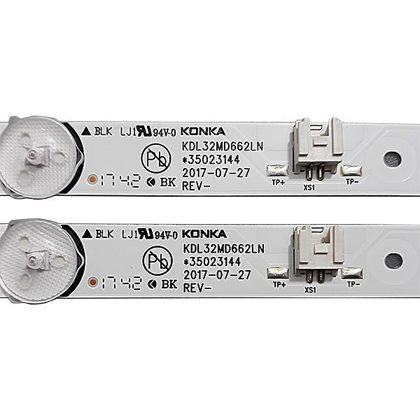 KIT 2 BARRAS DE LED TCL - Modelo L32S3900S   Código KDL32MD662LN *35023144
