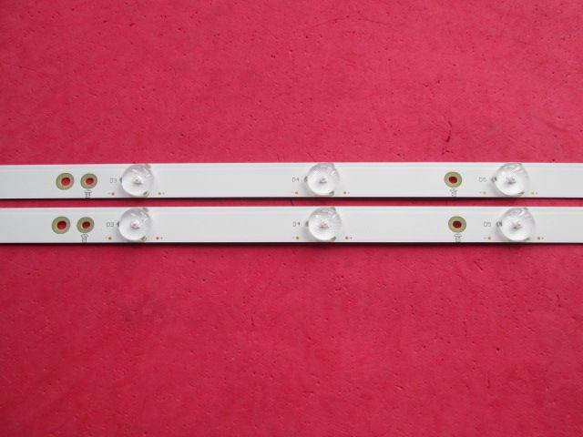 KIT 2 BARRAS DE LED AOC - LE43D1452 LB-PF3528-GJD2P5C435X10-H
