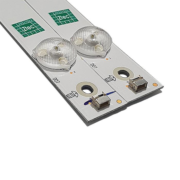 KIT 2 BARRAS LED AOC MODELO LE32S5970 SHINEON CÓDIGO 2D03506 REV.F