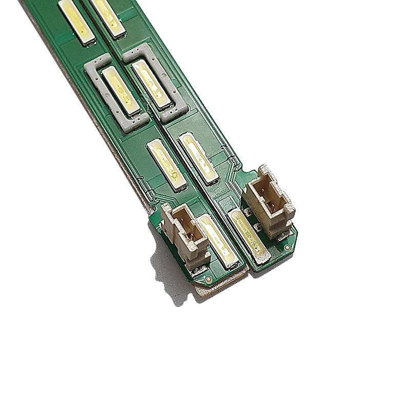 KIT 2 BARRAS LED LG 43LF5400 43LF5900 MAK63207801