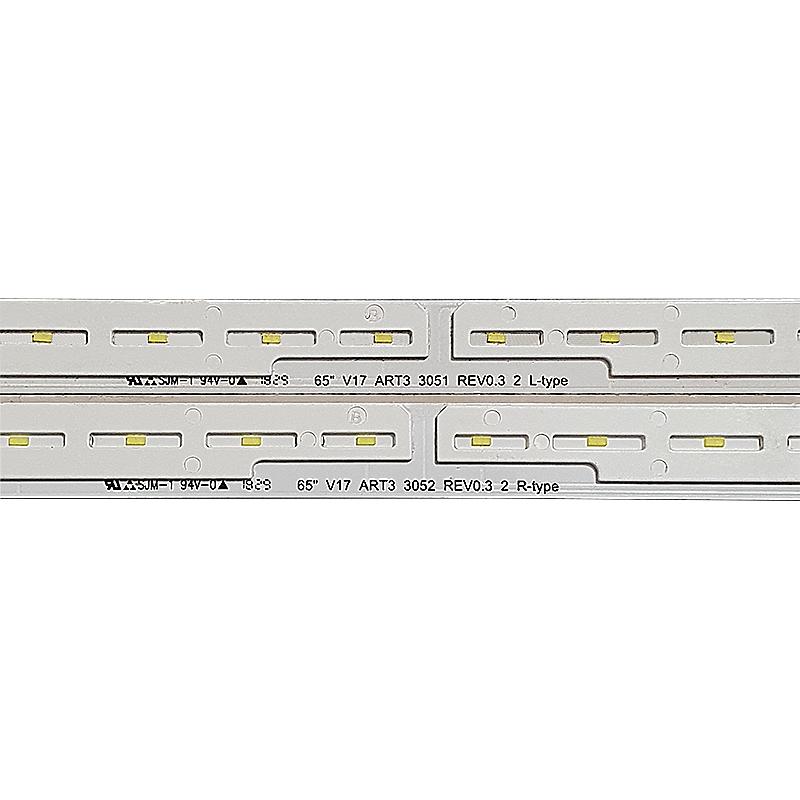 KIT 2 BARRAS LED LG 65KU6500 6916L-3051A / 6916L-3052A