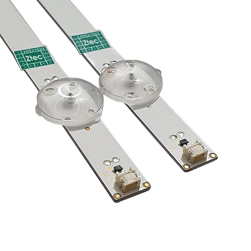 KIT 2 BARRAS LED LG - Modelo 32LH570B | Código SVC320AP1_REV04_5LED