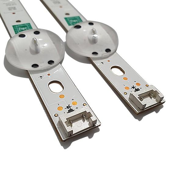 KIT 2 BARRAS LED LG - Modelo 43UJ6565 / 43UJ6525   Código 6916L-2867A / V17 43 REV0.3 1